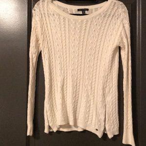 Women's white sweater